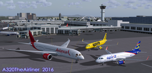 Charles meets Willie and Blaine (for Jckiller97) by A320TheAirliner