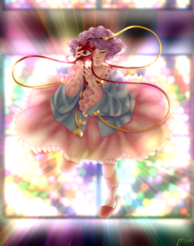 Satori Maiden **SPEEDPAINT IN DESC** by prismpower