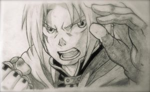 Edward Elric by gguitarart