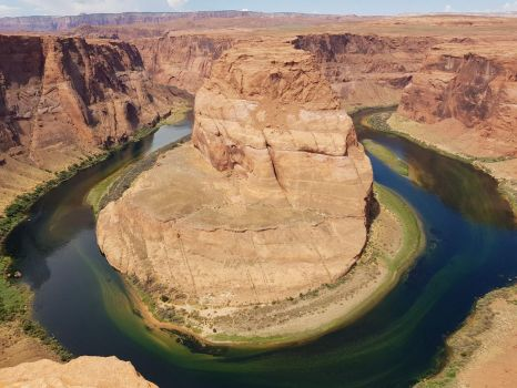 Grand Canyon Horseshoe Bend river by Bernard58