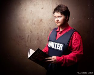 Richard Castle - I'm here for the story by ATildeProduction