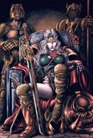 Warrior Lady Death by danielhdr