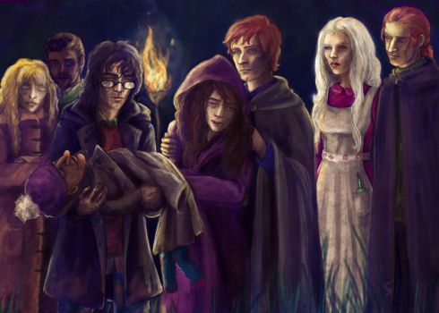 Dobby's Farewell by SaBenerica