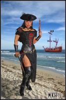 Pirate Asia DeVinyl by Hollinger