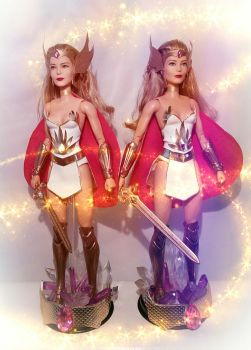 She-Ra Barbies by SimmonBeresford