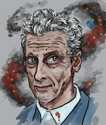 Peter Capaldi by shivikai