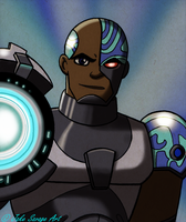 Cyborg by Fires-storm