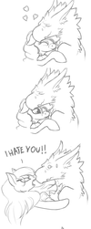 My realtionship in few panels by Sotoco