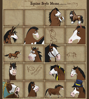 Equine Style Meme by damustang