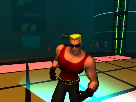 LowPoly Duke Dancing by yecgaa
