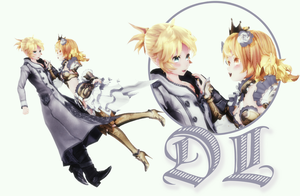 [MMD] TDA Princess Neru and Knight Len (DL) by HeyMisaki-chan