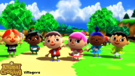 (MMD Model) Villagers Download by SAB64