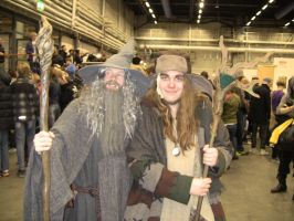 Gandalf and Radagast by EgonEagle