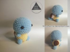 Chibi Squirtle amigurumi by NVkatherine