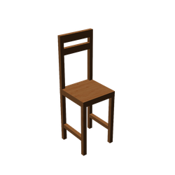 MMD Chair Download by dokaa
