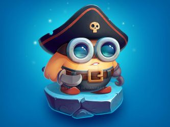 Brofix Pirate Character by NestStrix