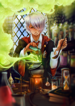 Potions by april-ame
