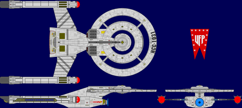 USS Discovery Multi-View by captshade