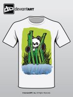 Panda and the Bamboo by ripperandriy