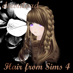 MMD SIMS 4 - Hair 2 - [DOWNLOAD][DL] by Milionna