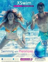 XS Swim - Swimming with Pheromones / test design by idlebg