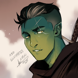 Critical Role - Fjord by ABD-illustrates