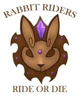 Rabbit Riders Crest and Info by TetheredManga