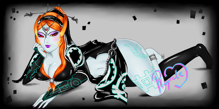 Twilight Princess Midna by Macabrelle
