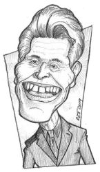Willem Dafoe by toongsteno
