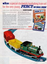 Meccano Percy advertisement by carsdude