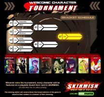 Webcomic Character Tournament Matchups and Dates by Dreamkeepers