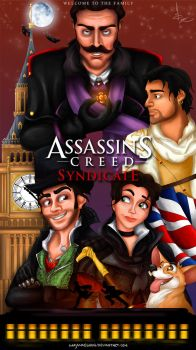Assassin's Creed: Syndicate Poster by imajanaeshun