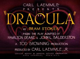 Dracula Opening Title Sequence In Color By Drreala by dr-realart-md