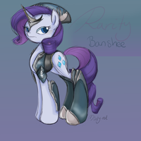 WarFrame Rarity (Banshee) by minty-red