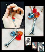 SecuriTale Skeleton Household phone charms by tekitourabbit