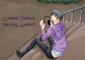 Wanna listen to my music by Shion-Tan