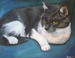 CatPainting by berf