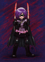 Hit-Girl 001 by sykoeent