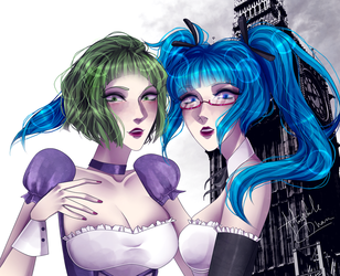 London Slag Party High by Heruine