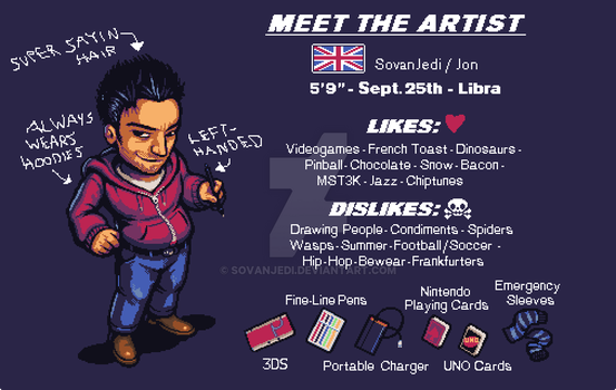Meet The Artist by SovanJedi