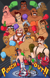 Punch-Out!! by ZoeStanleyArts