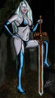 Lady Ashke (Lady Death) by Amalgam-Images