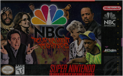 NBC Tournament Fighters by totalgymvssonic