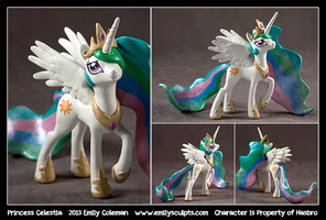 Princess Celestia by emilySculpts