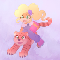 Coco and Pura by Shellsweet