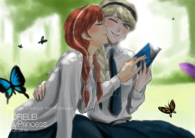 3rd Round Elsanna Commission 01 by LORELEI-LilyPrincess
