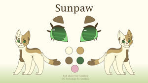 2018 Sunpaw Ref Sheet by Smileyme2