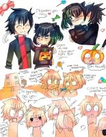 Ayando Halloween :.Doodles.: by Sonikkufreak