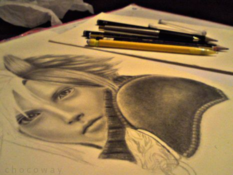 Cloud Strife WIP by ChocoWay