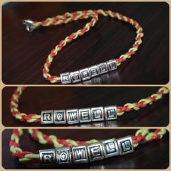Personalized Necklace by ghelalala
